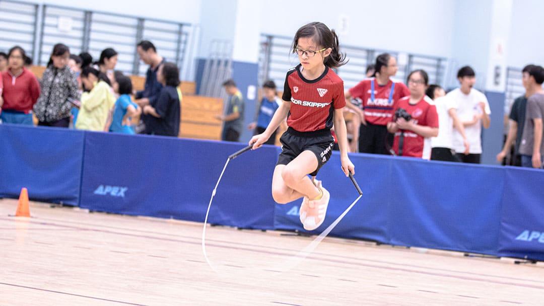 精英訓練 VSTEAM跳繩隊 跳繩比賽 恆常訓練課程 飛揚跳繩課程 花式跳繩 Rope Skipping 繩飛揚 VSHK