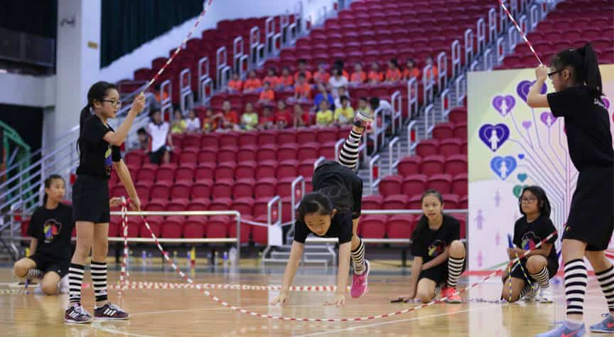 校隊跳繩比賽 課程種類 校隊課外活動 學校跳繩課程 花式跳繩 Rope Skipping 繩飛揚 VSHK