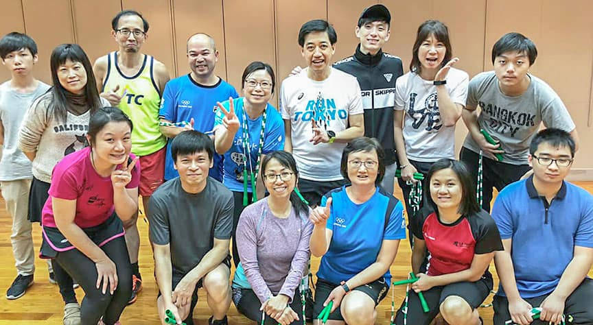 短期課程 企業培訓 Team Building 員工培訓 Team Building 遊戲 香港 花式跳繩 Rope Skipping 繩飛揚 VSHK