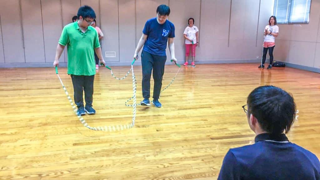 舉辦跳繩比賽-企業培訓-Team Building-員工培訓-team building 遊戲-香港-花式跳繩-ropeskipping-繩飛揚-vshk